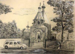 «Церковь Святого Николая» на тему «Краса родной земли»